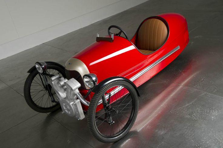 Morgan Motors :: 3 Wheeler Pedal Car