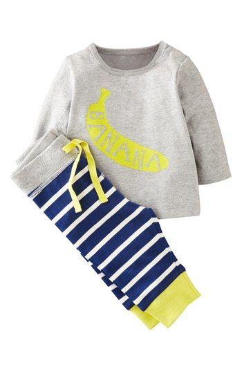 Mini Boden Shirt & Leggings (Baby Boys) available at #Nordstrom