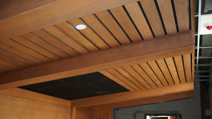 ceilings with wood beams | Inspiring Wooden Ceiling Contemporary Ceiling Lights Tough Wood Roof ...