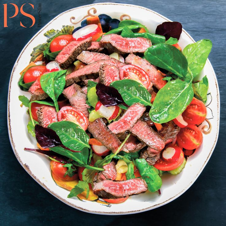 Biefstuk sashimi salade | Koolhydraatarm recept | PowerSlim fase1