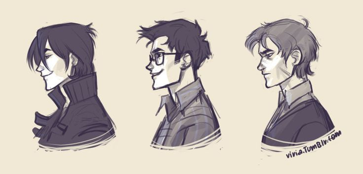 marauder's profiles  by *viria13  Sirius, James, Remus  ... no one will ever make me consider Peter as a marauder. I didn't want to draw him, sorry.