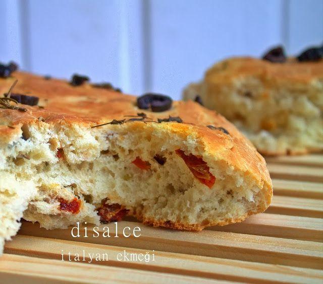 disal'in gözünden mutfak: İTALYAN EKMEĞİ