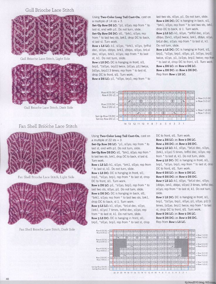 Brioche Knitting Tutorial : Best knit t brioche images on pinterest