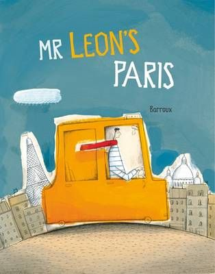 Paris is beautifully rendered in moody beige, blue and orange in this stylish tale of French taxi driver Mr Leon and his multifarious taxi journeys around the city.