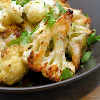 ROASTED CURRIED CAULIFLOWER – The Foodee Project