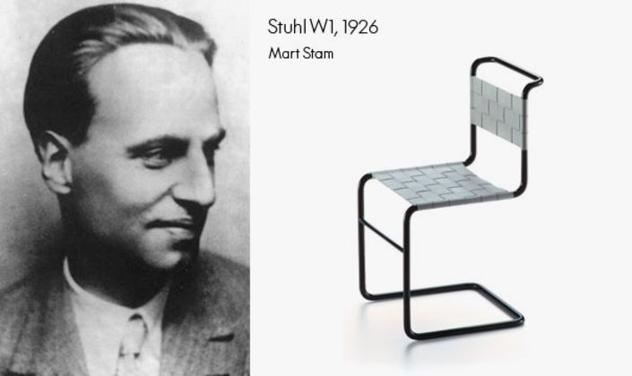 Stuhl W1 by Mart Stam is one of the earlier creations within the miniatures family.