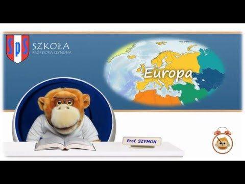 Poznajemy kontynenty - Szkoła Profesora Szymona - YouTube
