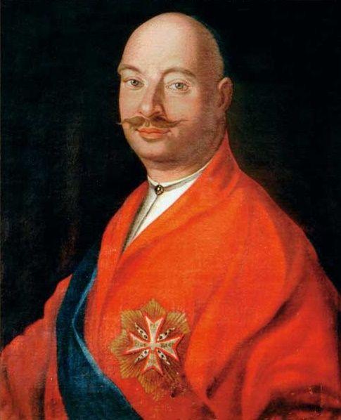 Portrait of Franciszek Salezy Potocki by Anonymous, 1780s (PD-art/old), Lviv National Art Gallery