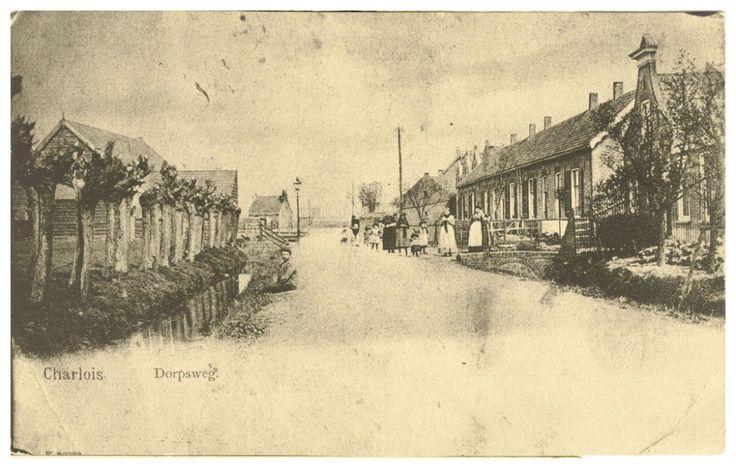 Rotterdam- Oud Charlois. Dorpsweg