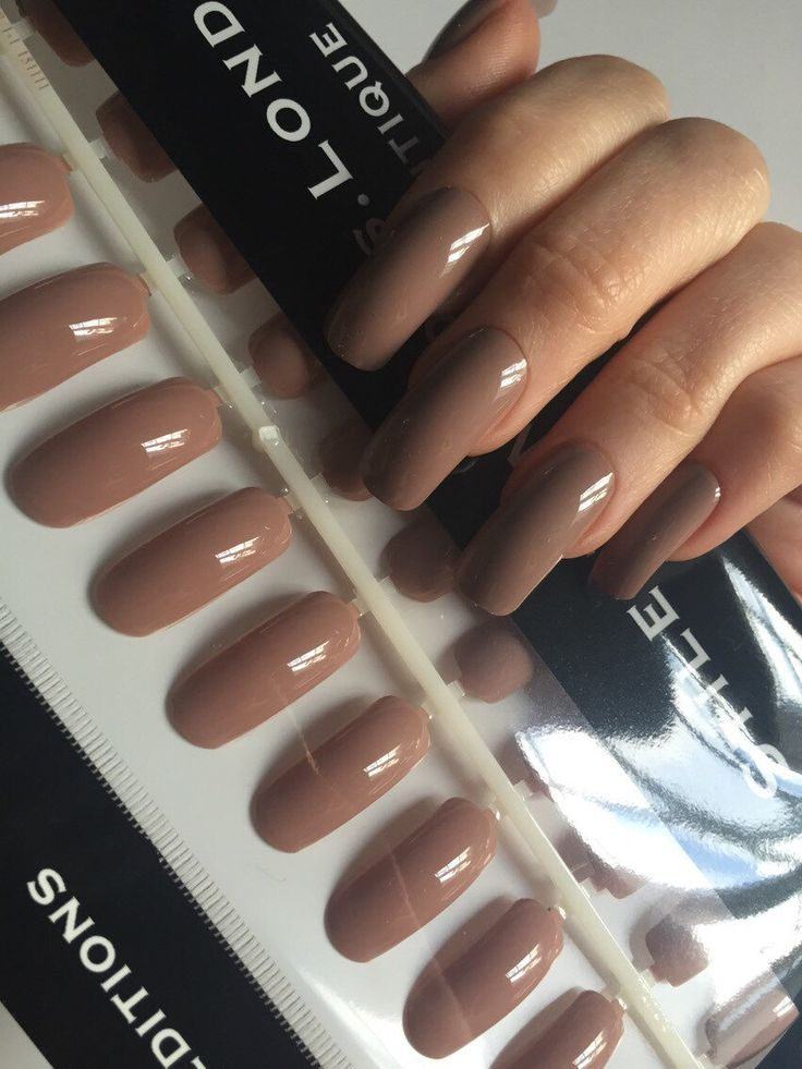 Long nails A personal favorite from my Etsy shop https://www.etsy.com/uk/listing/256703380/coffee-creme-taupe-long-square-false
