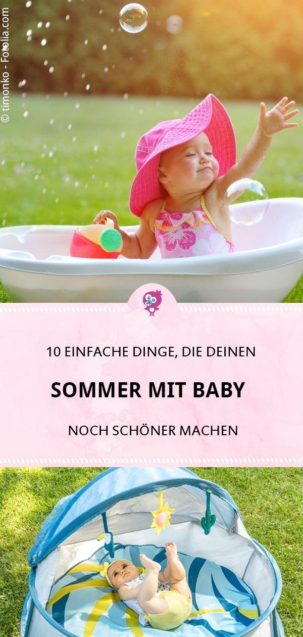 Wer im Sommer mit Baby auf diese 10 Dinge verzichtet, ist selber schuld – Veronika