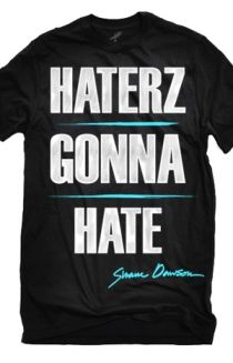 A District Lines exclusive!  Get this official Haterz Gonna Hate t-shirt from Shane Dawson!