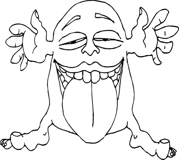 19 best Monsters images on Pinterest Monsters Coloring pages