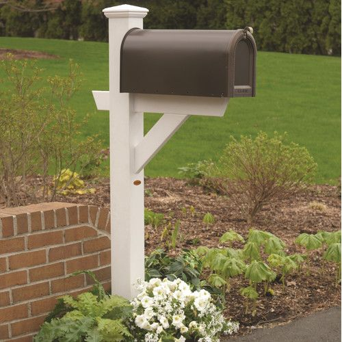 Found it at Wayfair - Hazleton Mailbox Post