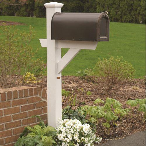 Found it at Wayfair - Hazleton Mailbox Post