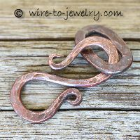 Handmade Wire Clasps | Wire Clasp - S Hook