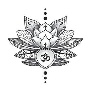 lotus flower drawing mandala - Google Search