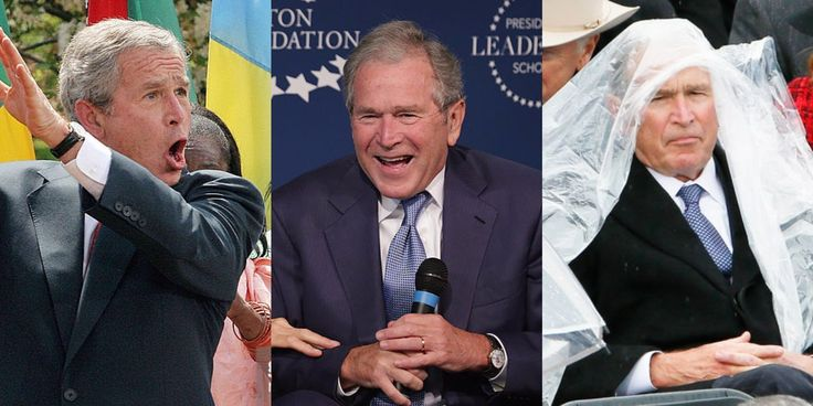 Lovable scamp. Dear Internet, Thank You For Finally Realizing That George W. Bush Is Our Most Adorable President
