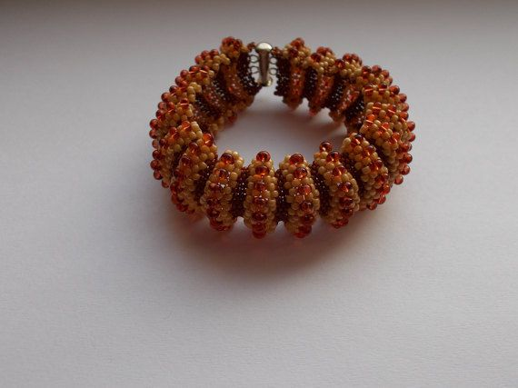 Check out this item in my Etsy shop https://www.etsy.com/listing/507903959/brown-waves-bracelet