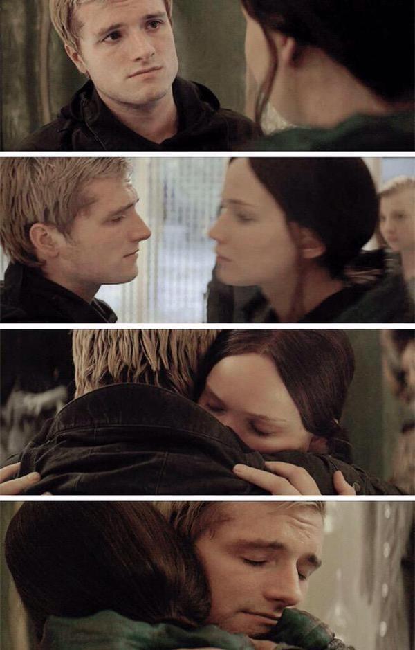 Katniss and Peeta #Everlark Mockingjay Part 2