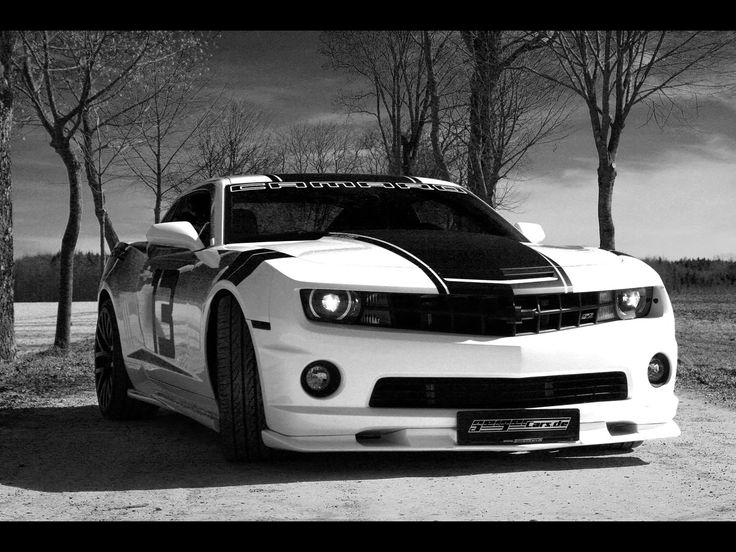Chevrolet Camaro Black And White