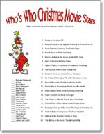 Holiday Trivia Gift Exchange Game- For our Family White Elephant ...