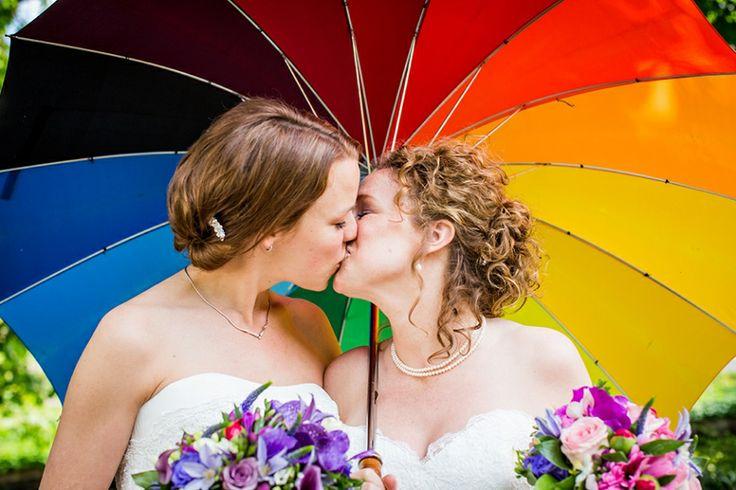 Bruidsfotografie homo-huwelijk, gay, lesbische bruiloft, #bruidsfotograaf Dario Endara