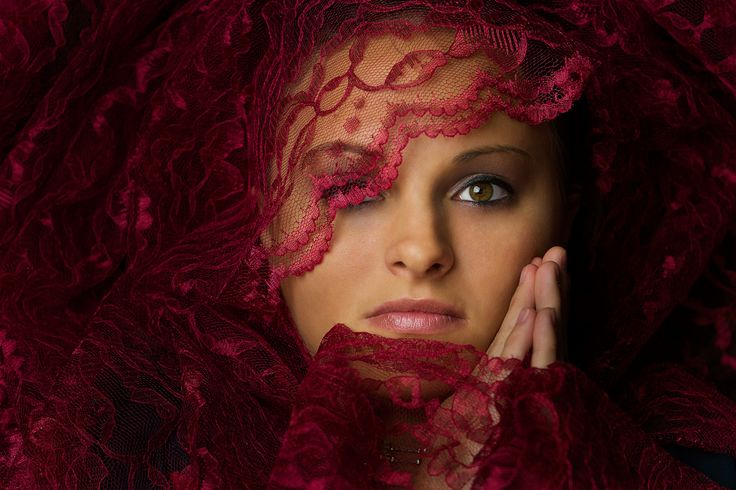 The Eye Of Red Lace by Tracy Parker on 500px