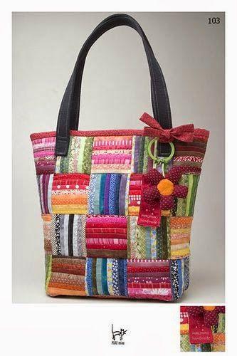 Hermosa bolsa con detalle