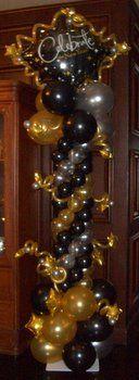 New Year's Eve Balloon Decor ~ Tulsa, OK
