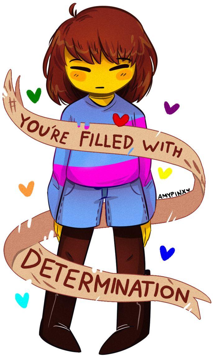 DETERMINATION by AmyPinkerson on DeviantArt