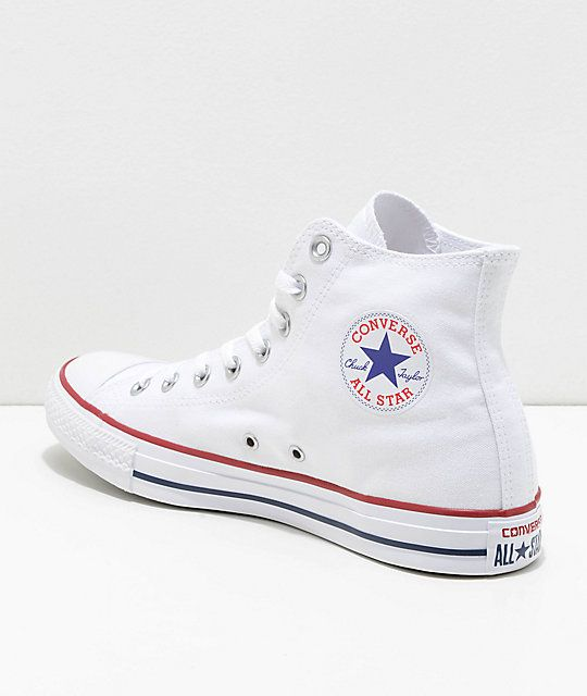 3bd0effcb26 Converse Chuck Taylor All Star White High Top Shoes in 2019 | baby ...