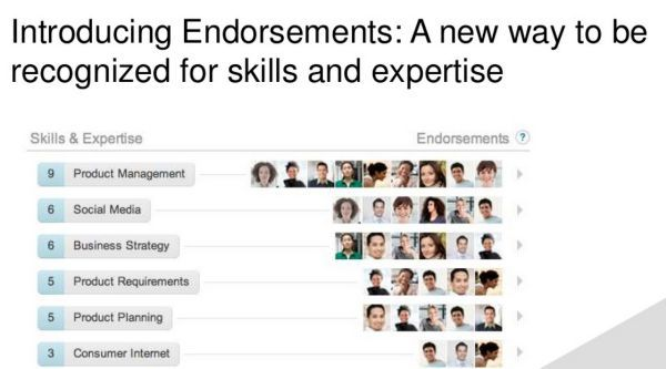 LinkedIn anuncia su nueva característica: los apoyos a las habilidades profesionales