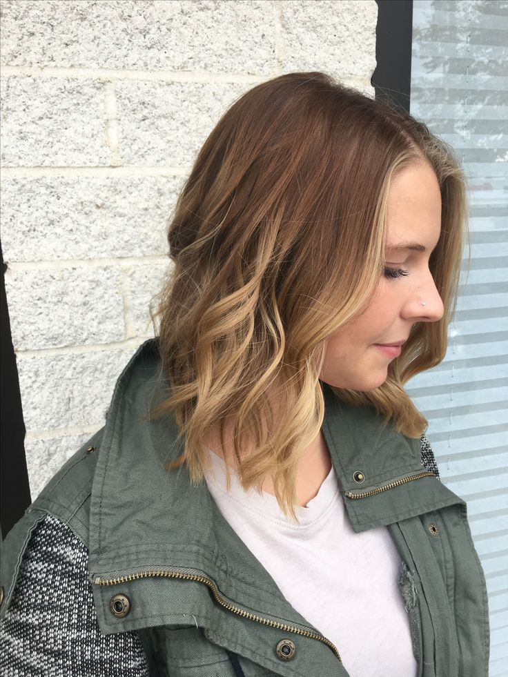 Brown to blonde fall baylage