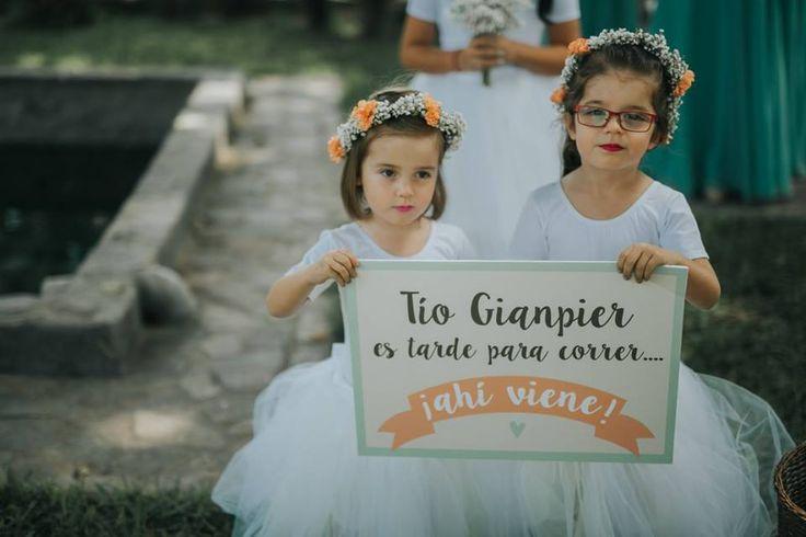 Cartel de damita para la boda de Lizeica&GianPier  #flowergirl #bodasmagnolia #detallespersonalizados #bodascreativas #bodasoriginales #cartelesbodas