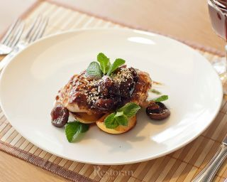 Филе индейки от шеф-повара ресторана «Менуа»