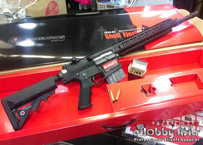 Shell Ejecting SR25 & More At eHobby Asia