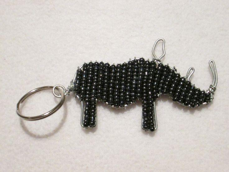 beadwork key ring #17