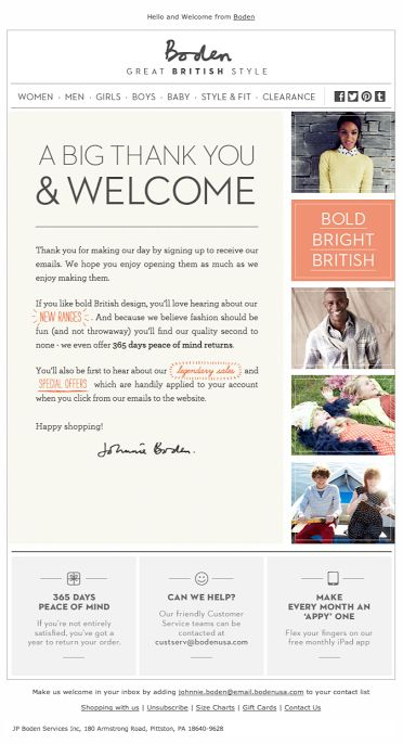 14 best welcome email newsletter images on Pinterest Email - confirmation email template