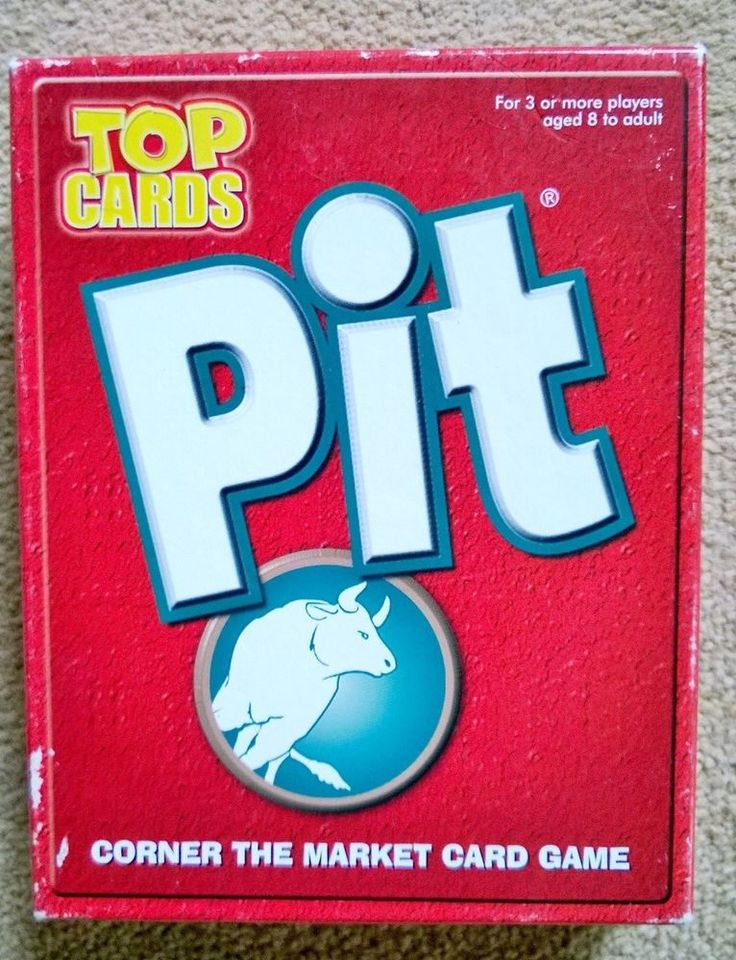 Pit - The Corner the Market card game. Hasbro 1996