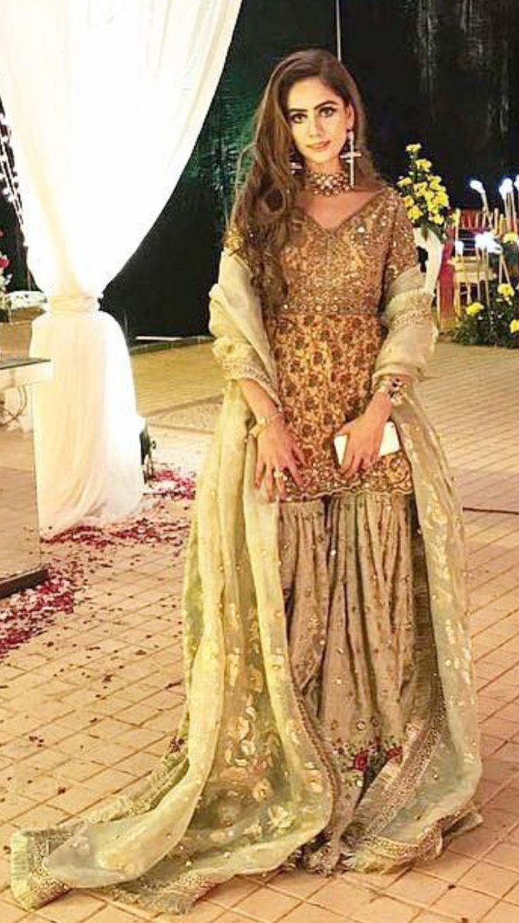 Beautiful Dresses For Wedding Guest In Pakistan