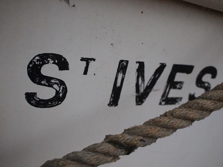 St Ives boat