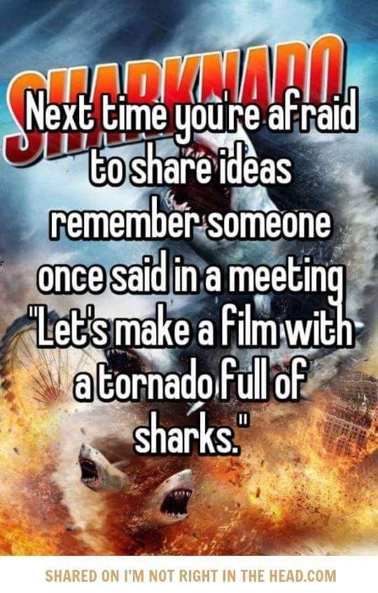 Sharknado ideas