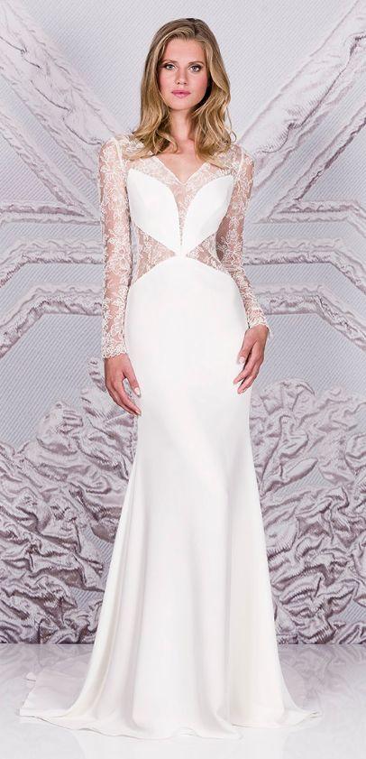 Featured Dress: Suzanne Neville; Wedding dress idea.