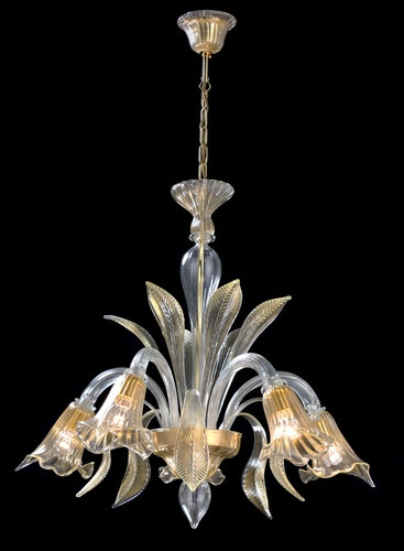 31 best lampara en cridtal images on pinterest crystals for the crystal and gold murano chandelier aloadofball Choice Image
