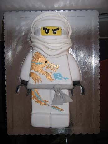 """Lego Ninjago cake  """"I have quite a few I have made for my kids and friends kids """"  - Amanda Holland"""