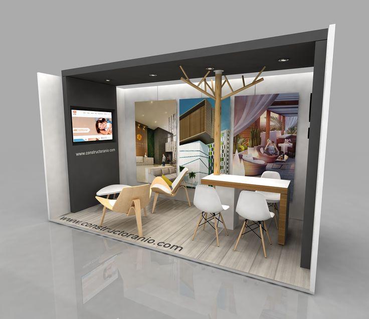 D Exhibition Stands : Constructora nio expoferia de la vivienda