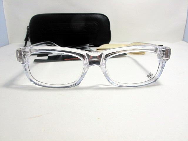 72b38de5d83d Valuable Transparent Eyeglasses Chrome Hearts Splat New