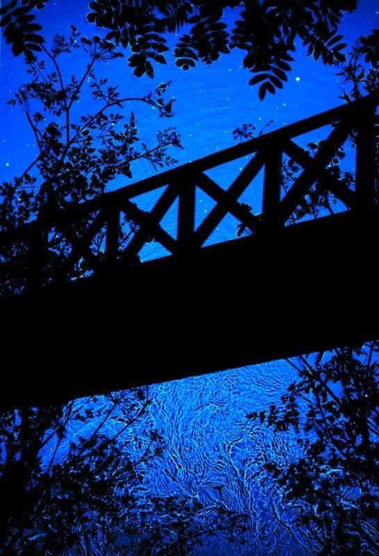 http://thecreatorsproject.vice.com/de/blog/fotografie-ohne-kamera-diese-acht-fotografen-wissen-wie/?utm_source=vicefb Und die letzte auf unserer Liste ist Susan Derges. Ihr ruhiger, natürlicher Prozess kann sich ausschließlich in der Dunkelheit der Nacht abspielen. Sie taucht Fotopapier in Wasser und lässt den Mond und ihr Blitzlicht einzigartige Bilder kreieren. So wie die Natur zu Susans Dunkelkammer wird, werden unsere Augen verzaubert.