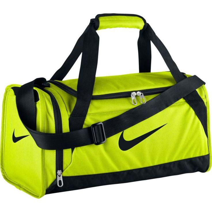 Nike Brasilia 6 X-Small Duffle Bag, Volt/Black